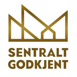 Sentralt godkjent logo - Stålbygg AS - Stålkonstruksjoner